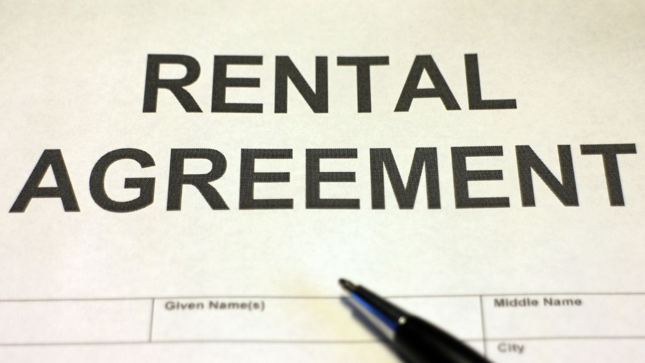 signing rental agreements